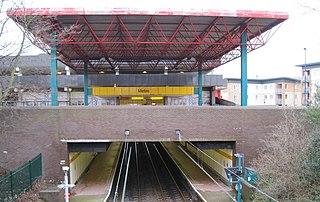 Regent Centre Interchange Tyne and Wear Metro station in Newcastle upon Tyne
