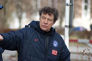 Otto Rehhagel - Rehhagel during his stint as Hertha Berlin manager