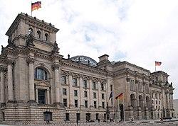 Riksdagsbygningen i Berlin – Wikipedia