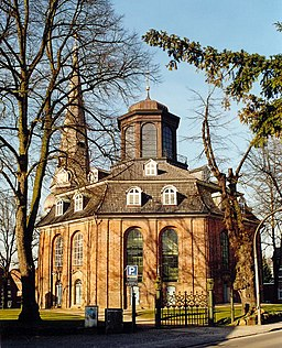 The church of Rellingen, Schleswig-Holstein (Germany), photo 2000
