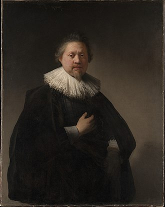 Portrait of a Man, probably a Member of the Van Beresteyn Family - Image: Rembrandt Portrait of a Man, probably a Member of the Van Beresteyn Family