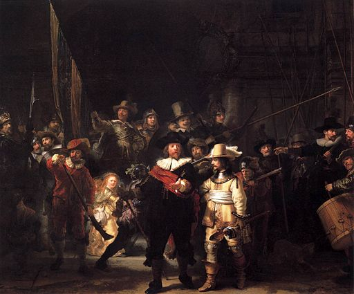 Rembrandt - The Nightwatch - WGA19147