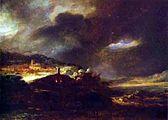 Rembrandt Harmenszoon van Rijn - Paysage D'Orage.JPG