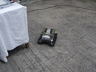 Remote control vehicle - Remote-control Mini-vehicle Radiological Survey