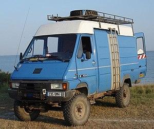Renault Master - Renault Messenger B90 4x4