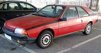 Renault Fuego - 1984 Renault Fuego GTX