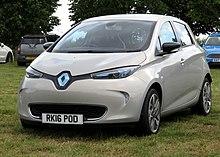 Renault Clio 2016 >> Renault Zoe - Wikipedia