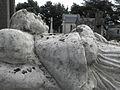 Rennes (35) Cimetière du Nord Tombe M.J. Brune Détail.jpg