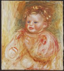 Portrait de Jean Renoir, enfant