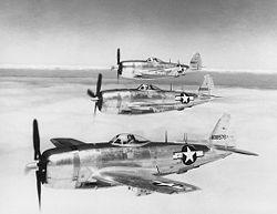 P–47N gépek kötelékben