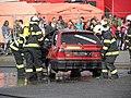 Retro městečko D10. Zásah-hořící auto.jpg