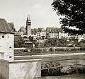Reuss folyó partja, szemben az óváros. Fortepan 92304.jpg
