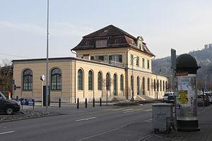 Rheineck railway station - Image: Rheineck 180214