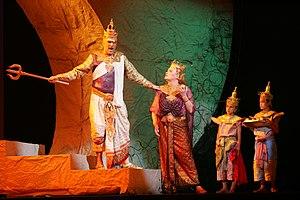 Bangkok Opera - Bangkok Opera's 2006 production of Das Rheingold with features drawn from Southeast Asian myth