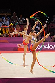 Rhythmic gymnastics at the 2012 Summer Olympics (7915011574).jpg
