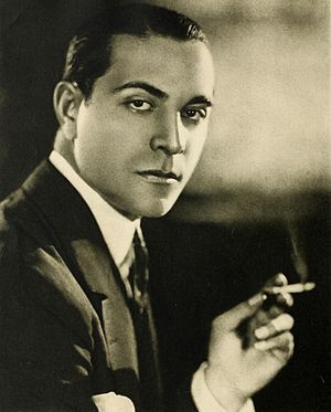 Latin lover (stereotype) - Image: Ricardo Cortez, Stars of the Photoplay