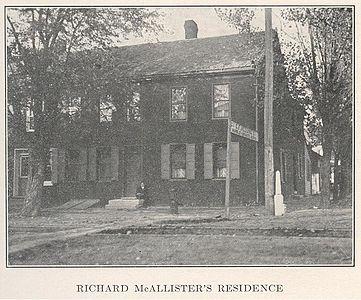 Richard McAllister's Residence