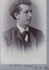 Strauss aged 22 (Source: Wikimedia)