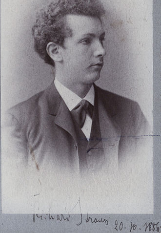 Richard Strauss - Strauss aged 22