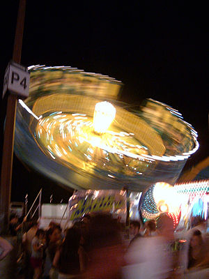 Ottawa SuperEX - Time Machine ride at the 2005 exhibition.