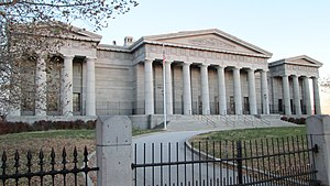 Philadelphia High School for the Creative and Performing Arts - Image: Ridgeway Library Philadelphia High School for Creative and Performing Arts from north