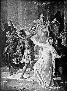 Punishment of Rienzi, Act IV