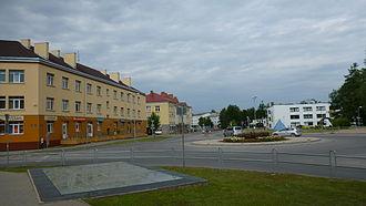 Valmiera - Image: Rigas Iela, summer 2013