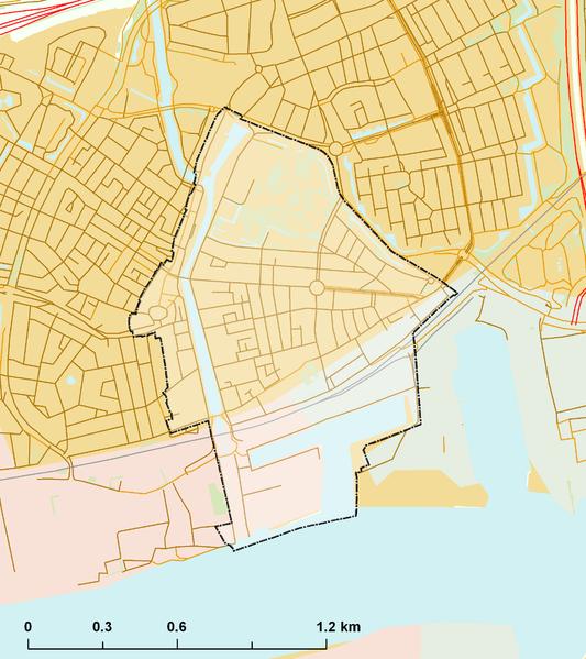 File:Rijksbeschermd stads- of dorpsgezicht - Vlaardingen.png