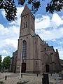 Rijnwaarden, Lobith RK kerk toren.JPG