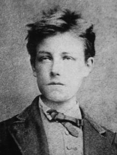 Arthur Rimbaud French symbolist poet