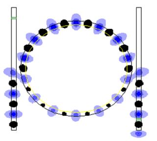 Optical ring resonators