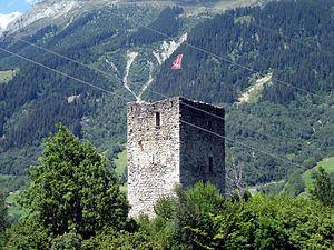 Burg Ringgenberg, Ansicht von SE