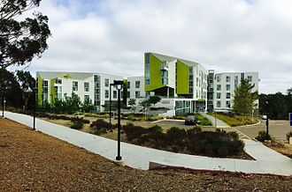UC San Diego School of Medicine - The Rita Atkinson Residences house medical students and residents
