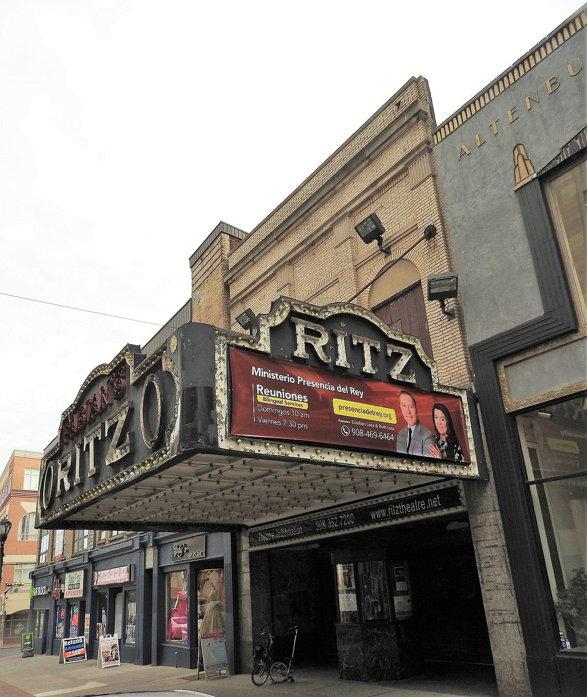 Ritz Theatre Elizabeth New Jersey Wikipedia