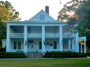National Register of Historic Places listings in Chattahoochee County, Georgia - Image: Riverside (Fort Benning, GA; NRHP)