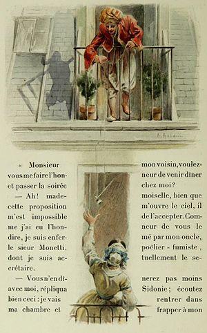 Illustration of Henry Murger's Scènes...