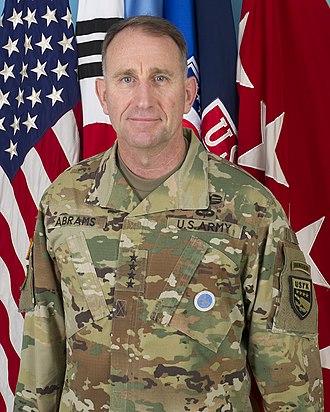 Robert B. Abrams - Robert B. Abrams as Commander, U.S. Forces Korea in 2018