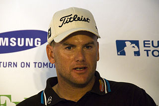 Robert Karlsson Swedish professional golfer