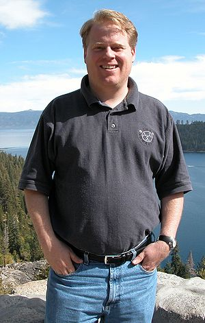 Photo of Robert Scoble, cropped from original.