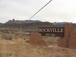 Rockville, Utah - Image: Rockville, Utah