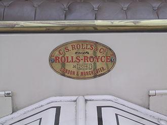 Rolls-Royce 10 hp - Image: Rolls Royce 1011288490