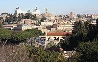Rom, Blick vom Giardino degli Aranci zum Kapitol.JPG