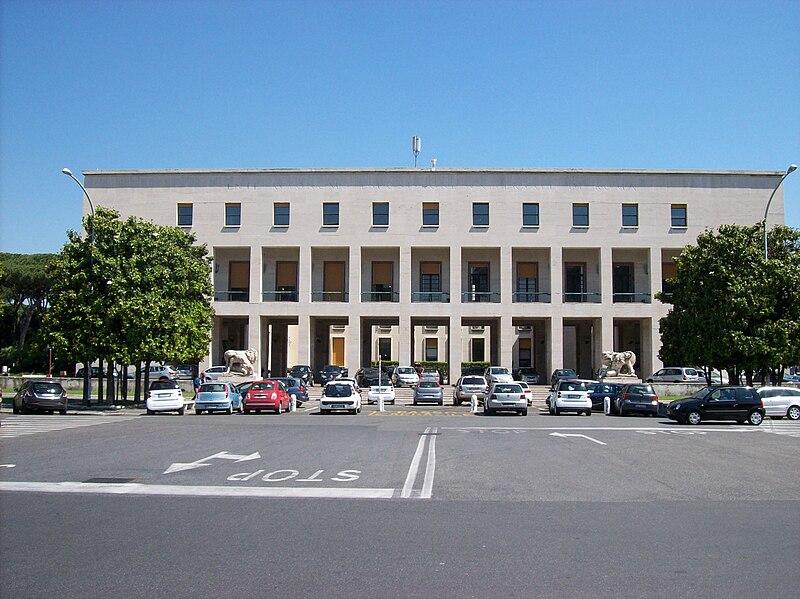 File roma palazzo uffici eur wikipedia for Uffici roma eur