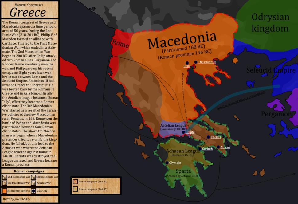 RomanConquests - Greece