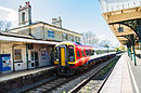 Romsey Station Class 158 April 2014.jpg