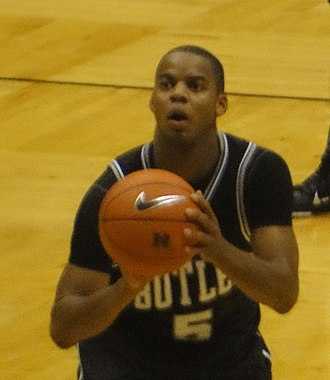 Ronald Nored - Nored as a player at Butler.