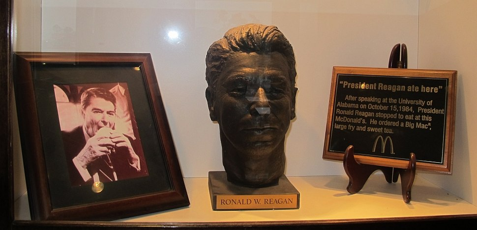 Ronald Reagan - McDonald's