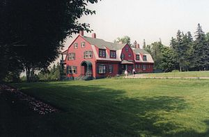 Roosevelt Campobello International Park - Image: Roosevelt Cottage Campobello 2002