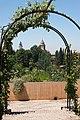 Rose arch Generalife gardens, Granada, Spain.jpg