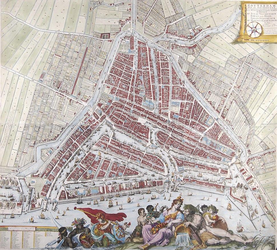 Rotterdam - De Vou+ De Hooghe, 1694